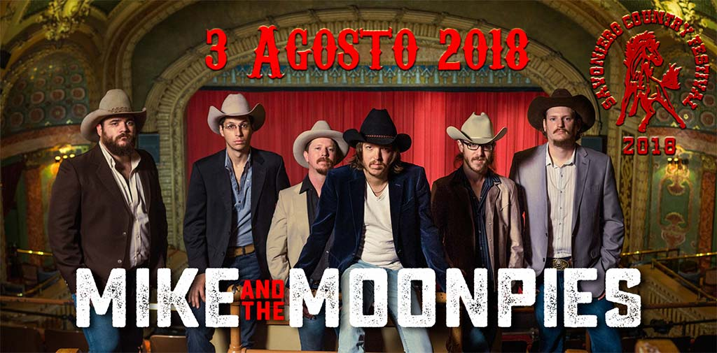 Mike & the Moonpies al Savoniero Country Festival 2018
